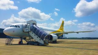Vanillia Air uçağı