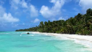 A beach in the Marshall Islands