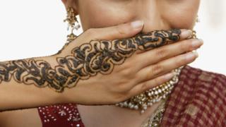 Женщина в Индии