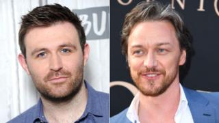 James McArdle and James McAvoy