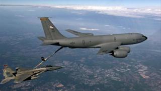 KC-135R jet