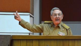 Madaxweynaha Cuba, Raul Castro.