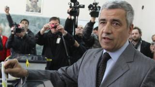 Oliver Ivanovic voting, 2013 file pic
