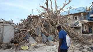 Hurricane Irma aftermath Sint Maarten
