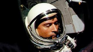 US astronaut John Young aboard Gemini 3 on March 23, 1965.