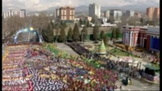 'بهار تاجیکستان؛ 'کاروان شادیانه نوروزی