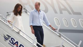 Duke and Duchess: Royal plane aborts landing after Pakistan storms