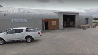 Recycle Cymru Ltd ym Mae Cinmel