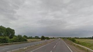 A47 at Terrington St John, Norfolk