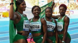 Nigeria athletes wey win gold