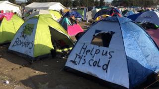 Tents at Idomeni (March 2016)