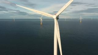 Beatrice wind farm turbines