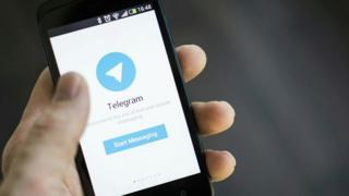 مسدود شدن تلگرام در ایران