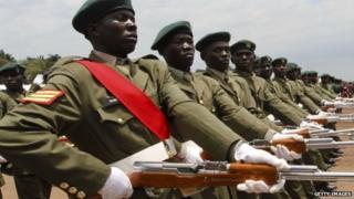 Abasirikare ba Uganda muri defire