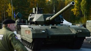 Танк Армата, производимый на Уралвагонзаводе