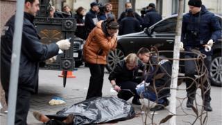 Дениса Вороненкова вбили в Києві біля готелю Premier Palace