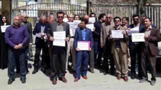 تجمعهای اعتراضی فرهنگیان در نقاط مختلف ایران