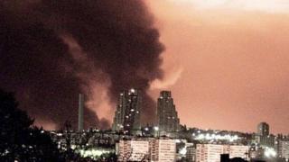 Небо над Белградом, апрель 1999