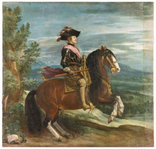 Felipe IV a Caballo (Philip IV on Horseback) by Diego Velázquez
