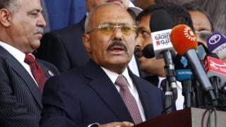 Бывший президент Салех