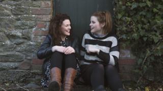 Gwawr and Elin