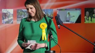 Lib Dem Jo Swinson lost her seat in Dunbartonshire East