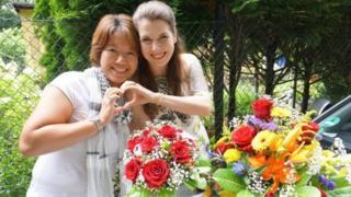 Ai Nakajima dan Tina Baumann menikah di Jerman, tetapi Jepang tidak mengakuinya.