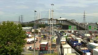 Dartford crossing