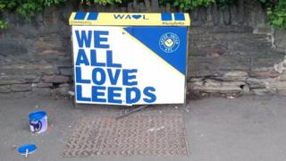Leeds United junction box