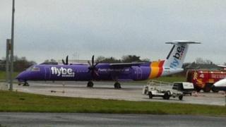 Aircraft at Belfast International Airport
