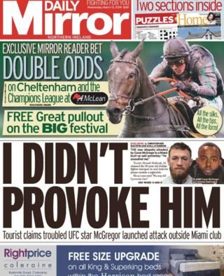 Daily Mirror NI