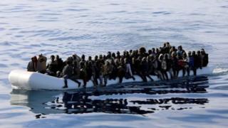 प्रवासियों की नाव