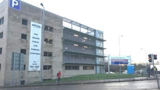 Glasgow Royal Infirmary car park