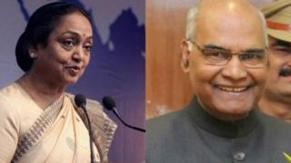 मीरा कुमार और कोविंद