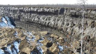 Таяние вечной мерзлоты способно ускорить изменение климата