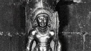 గుడిమల్లం దేవాలయంలోని శివుడి విగ్రహం