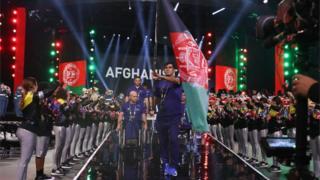 تیم والیبال معلولان افغانستان