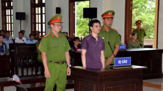 Phiên sơ thẩm xét xử nhà hoạt động Nguyễn Ngọc Ánh.