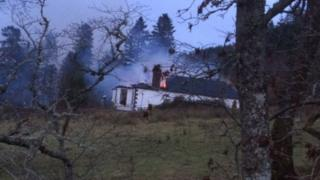 Fire at Boleskine House