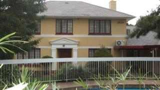 A Zimbabwe government-owned house in Cape Town that was auctioned to compensate evicted white Zimbabwean farmers