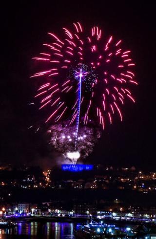 Oban fireworks