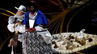 Melissa McCarthy and Brian Tyree Henry at the Oscars
