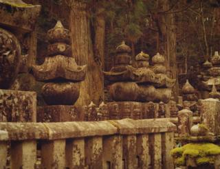 Rows of shrines