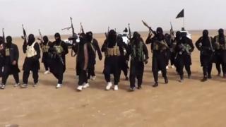 IS militants in Iraq (June, 2014)