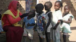 Campagne de vaccination au Soudan