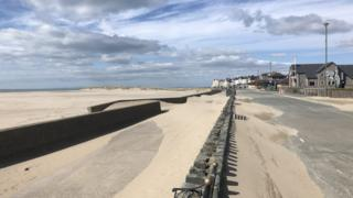 , Barmouth: Four rescued after being caught in rip current