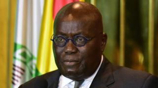President Nana Akufo-Addo of Ghana dey talk on same sex marriage