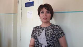 Айгүл Текебаев сот имаратында