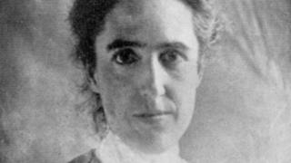 Retrato de Henrietta Swan Leavitt.