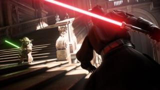 Screenshot from Battlefront II